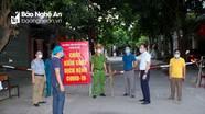 TP Vinh phong tỏa 48 hộ dân phường Cửa Nam liên quan đến ca nhiễm Covid-19 mới
