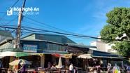 Tạm thời dừng hoạt động chợ Đội Cung (TP.Vinh)