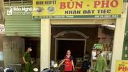 TP. Vinh: Thêm quán cà phê, ăn sáng bị xử phạt vì phục vụ khách tại chỗ