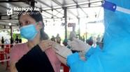 100% tiểu thương tại TP. Vinh đã được tiêm vắc xin Covid - 19