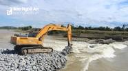 Khắc phục sự cố vỡ đập tràn Bara Đô Lương
