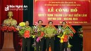 Công bố Quyết định thành lập Hạt Kiểm lâm Quỳnh Lưu- Hoàng Mai