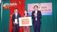 Phó Chủ tịch UBND tỉnh dự Ngày hội Đại đoàn kết tại khối 16 phường Hà Huy Tập (TP Vinh)