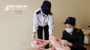 Thu giữ 140 kg sản phẩm động vật không được kiểm dịch