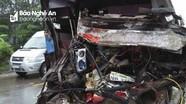 3 người Nghệ An tử vong trong vụ xe khách đâm xe tải ở Quảng Bình