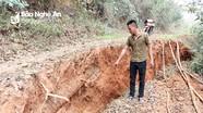 UBND tỉnh yêu cầu di dời dân do sự cố sạt lở đất ở Kỳ Sơn