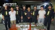 Công an Nghệ An phối hợp bắt giữ 5 đối tượng vận chuyển 120 bánh heroin