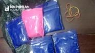 Nghệ An: Bắt gọn con nghiện vận chuyển, tàng trữ lượng lớn ma túy