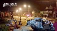 Nghệ An: 3 người tử vong sau vụ tai nạn giữa xe khách và ô tô con