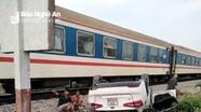 Nghệ An: Tàu hỏa đâm xe ô tô, một phụ nữ tử vong tại chỗ