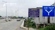 Dự án đường huyết mạch tại thành phố Vinh bế tắc vì 2 mảnh đất
