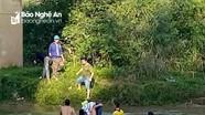 Nữ sinh lớp 10 ở Nghệ An gieo mình xuống dòng sông Dinh