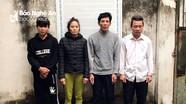 Bắt ổ nhóm thực hiện 6 vụ trộm tài sản nhà dân