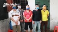 Bắt giữ 5 đối tượng ở Đô Lương tụ tập đánh bạc trong lúc cách ly xã hội