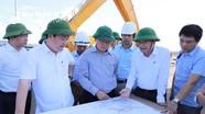 Chủ tịch UBND tỉnh Nguyễn Đức Trung kiểm tra tiến độ các dự án, công trình trọng điểm