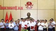 Tiến tới tổ chức tại Nghệ An chuỗi sự kiện 'Lâm nghiệp Việt Nam - 75 năm hình thành và phát triển'