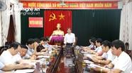 Bộ Nội vụ kiểm tra tình hình sắp xếp đơn vị hành chính cấp xã ở huyện Nam Đàn