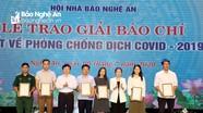 Tỉnh Nghệ An khen thưởng 38 tác phẩm báo chí viết về phòng, chống dịch Covid-19