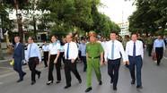 Đồng chí Trương Hòa Bình dự lễ mít tinh 'Ngày toàn dân phòng, chống mua bán người 30/7'