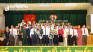 Đồng chí Vương Quang Minh được bầu giữ chức Bí thư Huyện ủy Quỳ Châu nhiệm kỳ 2020-2025