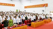Đại hội đại biểu Đảng bộ huyện Tân Kỳ, nhiệm kỳ 2020 – 2025 khai mạc phiên chính thức