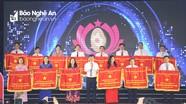 Giao lưu, tuyên dương các điển hình Thi đua yêu nước tỉnh Nghệ An, giai đoạn 2015 - 2020