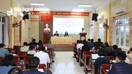 Nghệ An họp báo thông tin kết quả Đại hội đại biểu Đảng bộ tỉnh lần thứ XIX