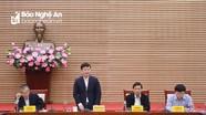 UBND tỉnh Nghệ An thông qua các dự thảo Nghị quyết về điều chỉnh vốn, tiêu chí phân bổ vốn đầu tư công