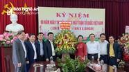 Đồng chí Nguyễn Đức Trung chúc mừng Ủy ban MTTQ Việt Nam tỉnh Nghệ An nhân kỷ niệm 90 năm ngày truyền thống