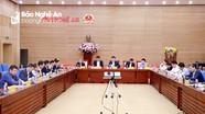 UBND tỉnh Nghệ An thông qua Dự án xây dựng công trình tưởng niệm liệt sỹ