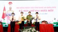 HĐND tỉnh Nghệ An miễn nhiệm, bầu bổ sung Ủy viên UBND tỉnh