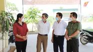 Phó Chủ tịch HĐND tỉnh kiểm tra công tác bầu cử tại huyện Nghĩa Đàn