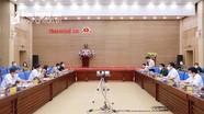 Thứ trưởng Bộ Y tế làm việc với lãnh đạo tỉnh Nghệ An về công tác phòng, chống dịch Covid-19