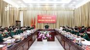 Bộ Chỉ huy Quân sự tỉnh tổ chức Hội nghị Quân chính 6 tháng đầu năm