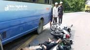 Hai thanh niên chạy xe máy từ miền Nam về Nghệ An ăn Tết gặp nạn thương tâm