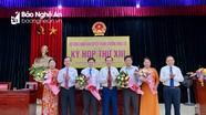 Thanh Chương bầu tân Chủ tịch UBND huyện