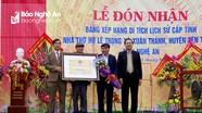 Nhà thờ họ Lê Trọng (Yên Thành) đón nhận bằng Di tích lịch sử cấp tỉnh