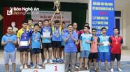 Bế mạc Giải bóng bàn mở rộng huyện Quỳnh Lưu năm 2018  