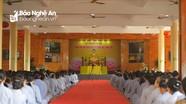 Lễ đúc đồng tượng Phật ở chùa Cổ Am