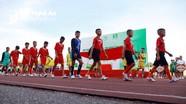 Những hình ảnh đáng nhớ trong lễ khai mạc Giải bóng đá TN-NĐ Cúp Báo Nghệ An