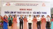 147 nghệ sỹ dự Triển lãm Mỹ thuật khu vực Bắc miền Trung tại Nghệ An