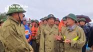 Bí thư Tỉnh ủy Thái Thanh Quý kiểm tra tình hình ngập lụt tại huyện Yên Thành và Nghi Lộc