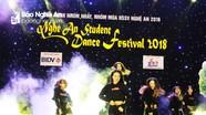 Đại học Vinh đạt giải Nhất cuộc thi Student Dance Festival 2018