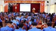 400  ĐVTN Thành đoàn Vinh tập huấn công tác Đoàn - Hội - Đội