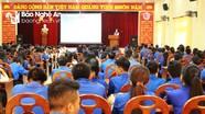 Thành đoàn Vinh tập huấn cho hơn 350 cán bộ Đoàn - Đội