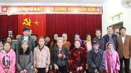 Đồng chí Lê Quang Huy tặng quà Tết tại Con Cuông, Anh Sơn, Đô Lương