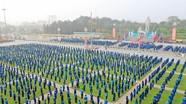 """Gần 5.500 đoàn viên thanh niên tham gia lễ khởi động """"Tháng Thanh niên"""" 2019"""