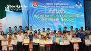 Nghệ An chọn 4 học sinh xuất sắc tham gia Hội thi tin học trẻ toàn quốc