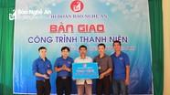 Báo Nghệ An bàn giao công trình thanh niên và tặng quà tại xã Xiêng My