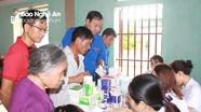 Hơn 300 bà con giáo dân được khám, cấp phát thuốc miễn phí
